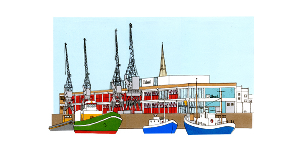 Boats and Cranes