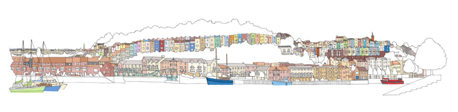 'Harbourside Houses' Emily Ketteringham
